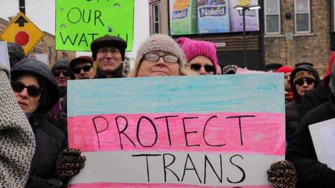 Apologise, crime hate transgender